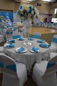 Wedding in Blue Bonnet Ballroom
