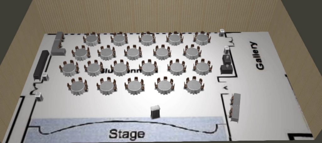 BB I Reception 3D Virtual