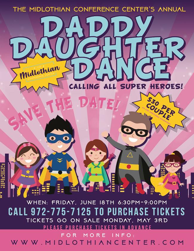 2021 midlothian daddy daughter dance